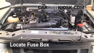 Replace a Fuse: 1998-2011 Ford Ranger