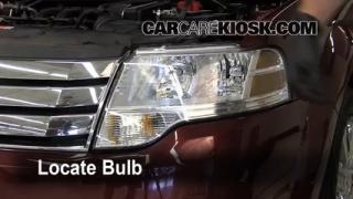 Headlight Change 2008-2009 Ford Taurus X