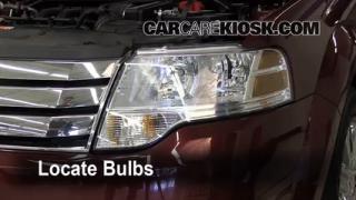 Parking Light Change 2008-2009 Ford Taurus X