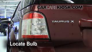 Reverse Light Replacement 2008-2009 Ford Taurus X