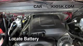 Battery Replacement: 2007-2013 GMC Yukon