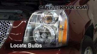 Parking Light Change 2007-2013 GMC Yukon XL 1500