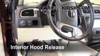 Open Hood How To 2007-2013 GMC Yukon