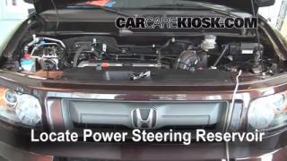Follow These Steps to Add Power Steering Fluid to a Honda Element (2003-2011)
