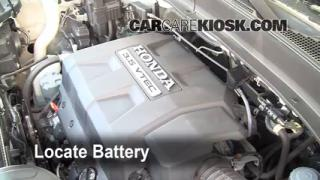 Battery Replacement: 2006-2013 Honda Ridgeline