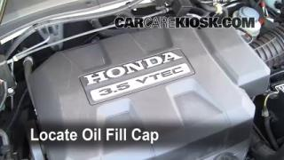 How to Add Oil Honda Ridgeline (2006-2013)