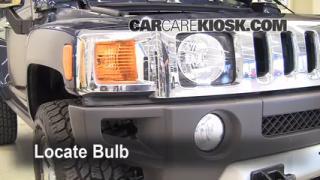Parking Light Change 2006-2010 Hummer H3