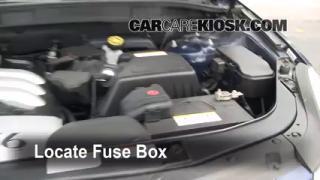Replace a Fuse: 2007-2012 Hyundai Veracruz