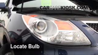 Headlight Change 2007-2012 Hyundai Veracruz