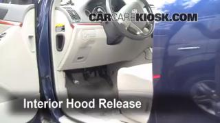 Open Hood How To 2007-2012 Hyundai Veracruz