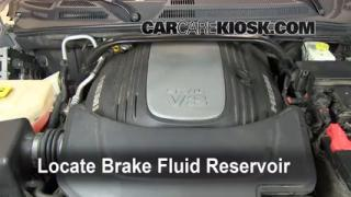 2006-2010 Jeep Commander Brake Fluid Level Check