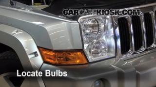 Parking Light Change 2006-2010 Jeep Commander