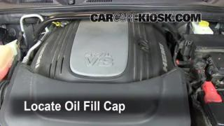 How to Add Oil Jeep Commander (2006-2010)