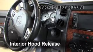 Open Hood How To 2006-2010 Jeep Commander