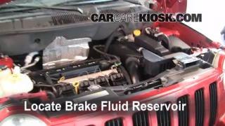 2007-2013 Jeep Compass Brake Fluid Level Check