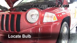 Headlight Change 2007-2013 Jeep Compass