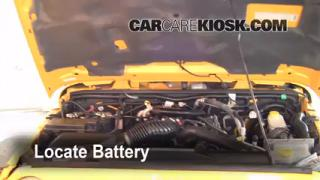 How to Clean Battery Corrosion: 2007-2013 Jeep Wrangler
