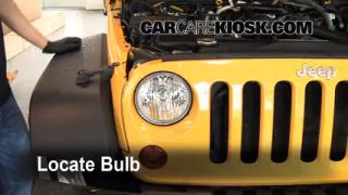 Highbeam (Brights) Change: 2007-2013 Jeep Wrangler