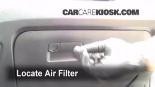 2005-2010 Kia Sportage Cabin Air Filter Check