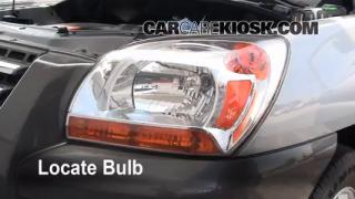 Headlight Change 2005-2010 Kia Sportage