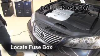 Blown Fuse Check 2007-2012 Lexus ES350