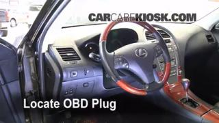 Engine Light Is On: 2007-2012 Lexus ES350 - What to Do