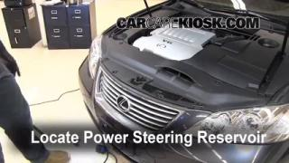 Follow These Steps to Add Power Steering Fluid to a Lexus ES350 (2007-2012)