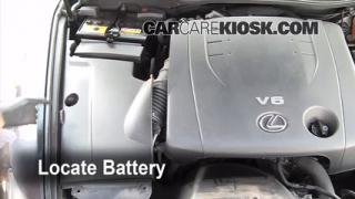 How to Clean Battery Corrosion: 2006-2013 Lexus IS250