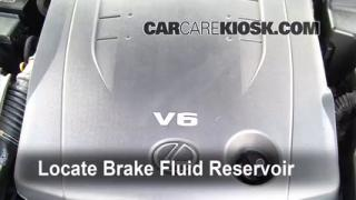 2006-2013 Lexus IS250 Brake Fluid Level Check