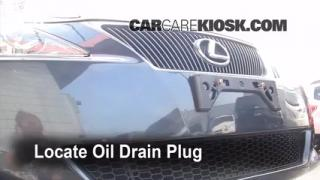 Oil & Filter Change Lexus IS350 (2006-2013)