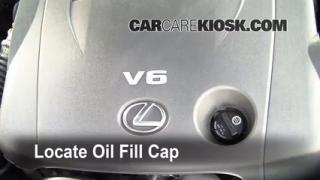 How to Add Oil Lexus IS350 (2006-2013)