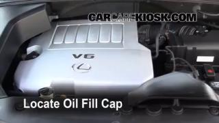 How to Add Oil Lexus RX350 (2004-2009)