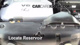 Add Windshield Washer Fluid Lexus RX350 (2004-2009)