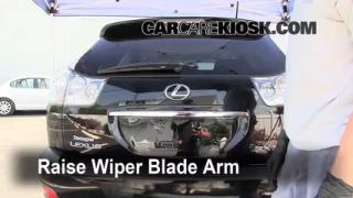 Rear Wiper Blade Change Lexus RX350 (2004-2009)