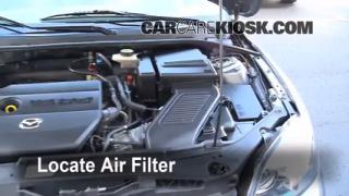 2004-2009 Mazda 3 Engine Air Filter Check