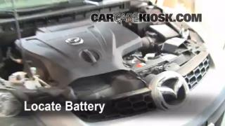 Battery Replacement: 2007-2012 Mazda CX-7