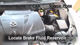 Add Brake Fluid: 2007-2012 Mazda CX-7