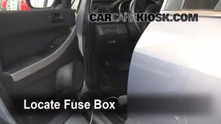 2007-2012 Mazda CX-7 Interior Fuse Check