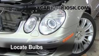 Parking Light Change 2003-2009 Mercedes-Benz E350