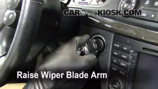 Front Wiper Blade Change Mercedes-Benz E350 (2003-2009)