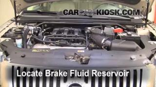 Add Brake Fluid: 2008-2009 Mercury Sable