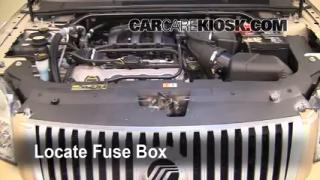 Blown Fuse Check 2008-2009 Mercury Sable