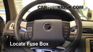 2008-2009 Mercury Sable Interior Fuse Check