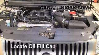 How to Add Oil Mercury Sable (2008-2009)