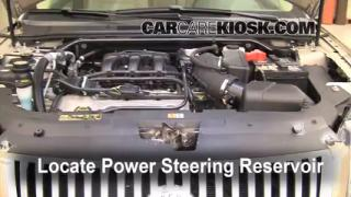 Follow These Steps to Add Power Steering Fluid to a Ford Taurus (2008-2009)