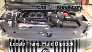 Add Transmission Fluid: 2008-2009 Ford Taurus