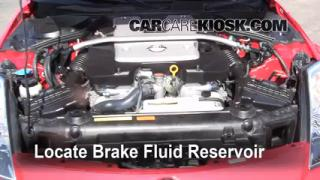 2003-2009 Nissan 350Z Brake Fluid Level Check