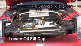 How to Add Oil Nissan 350Z (2003-2009)