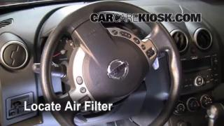 Cabin Filter Replacement: Nissan Rogue 2008-2013