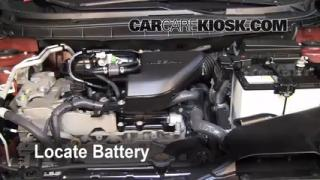 Battery Replacement: 2008-2013 Nissan Rogue